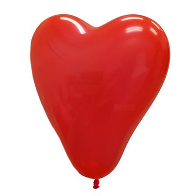 "12"" YOU'RE SPECIAL! Latex Heart Balloons- Red-25/pk"
