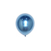 "25 Pack | 12"" Chrome Royal Blue Metallic Latex Helium Balloons"