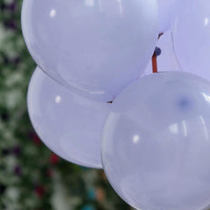 "25 Pack | 10"" Pastel Periwinkle Round Latex Balloons 