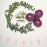 25 Pack | 12 inches Pastel Eggplant Round Latex Balloons | Matte Color Helium Balloons