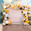 "2 Pack | 32"" Large Pastel Gold Round Latex Balloons 