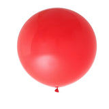 "2 Pack | 32"" Large Red Round Latex Balloons 