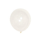 "25 Pack | 12"" Clear Pearl Balloons 