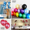 "25 Pack | 12"" Eggplant Pearl Balloons 