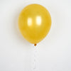 "25 Pack 12"" Antique Gold Metallic Wholesale Latex Balloons Helium"