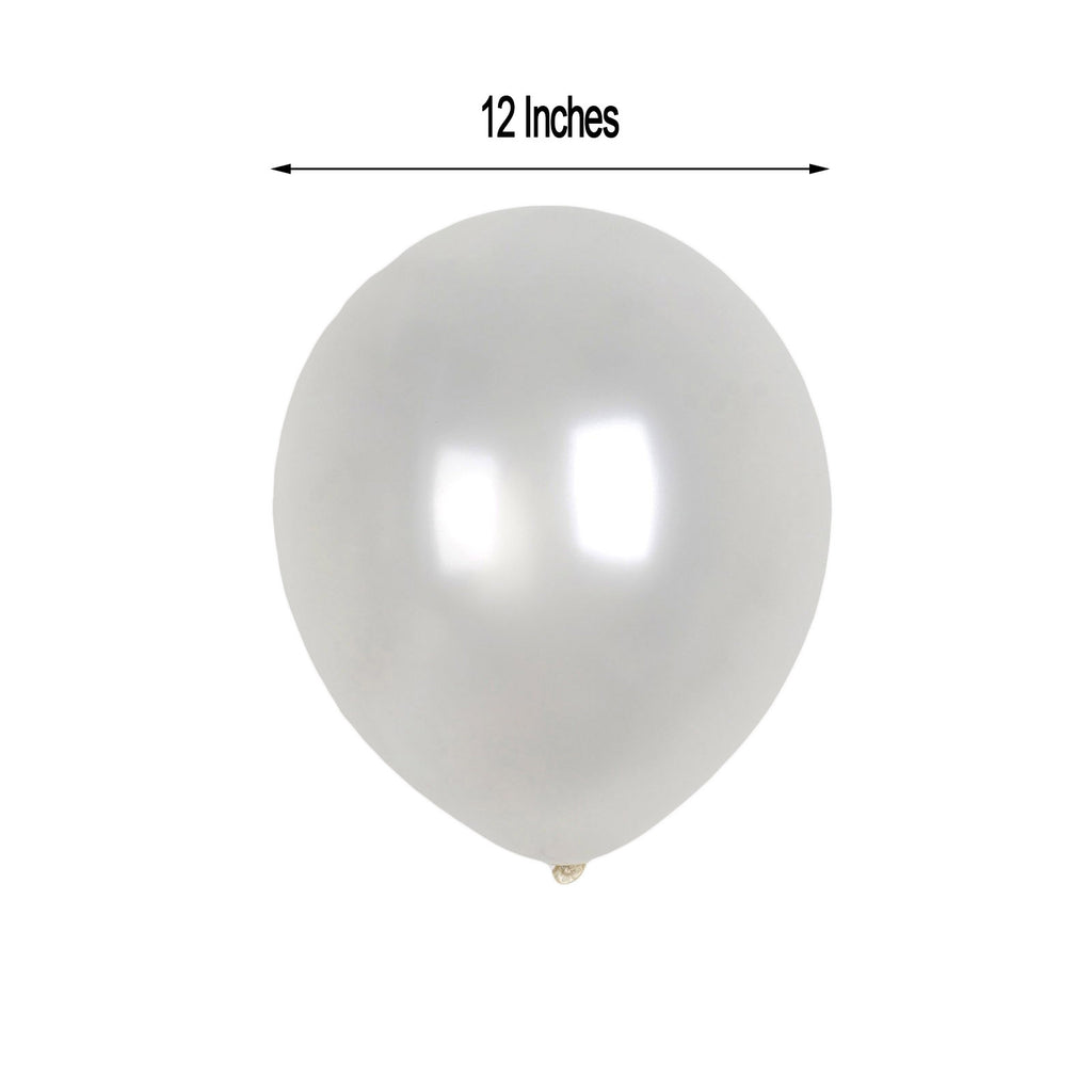 Pack of 25 Grey 11/'/' Latex Balloons