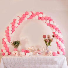 12ft Adjustable Balloon Arch Stand Kit DIY Birthday Decoration