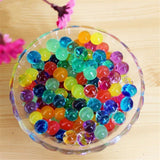 10 grams | Clear BIG Round Deco Water Beads Jelly Vase Filler Balls