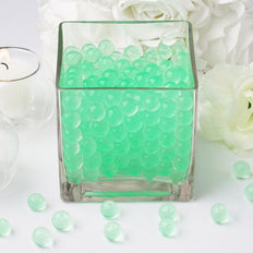 200 to 250 PCS | Apple Green Small Round Deco Water Absorbing Beads Jelly Vase Filler Balls