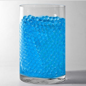Blue Small Round Deco Water Beads Jelly Vase Filler Balls For Centerpieces Table Decoration
