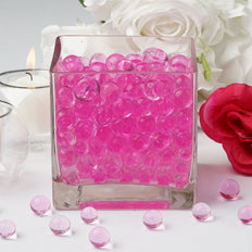 200 to 250 PCS | Pink Small Round Deco Water Beads Jelly Vase Filler Balls