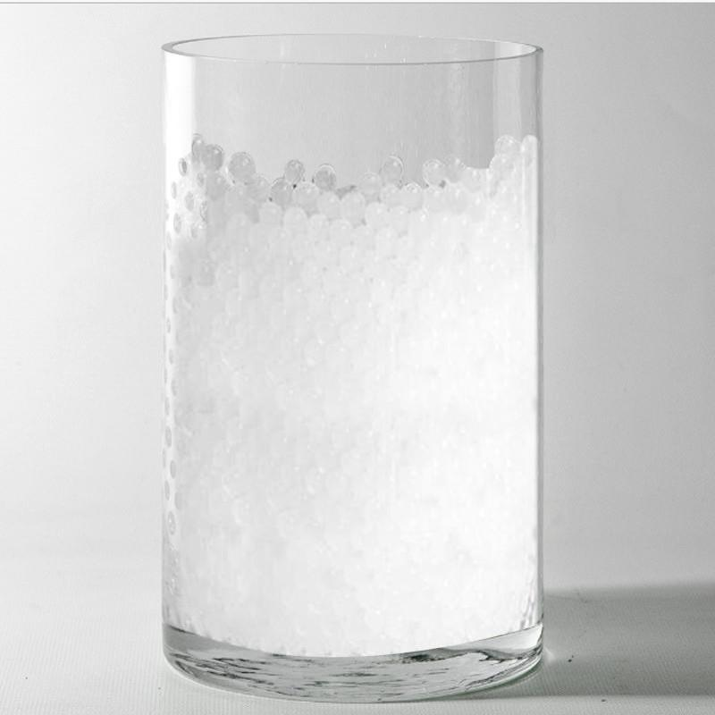 200 To 250 Pcs White Small Round Deco Water Beads Jelly Vase