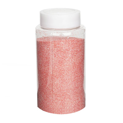 1 Pound Coral DIY Art & Craft Glitter Extra Fine With Shaker Bottle