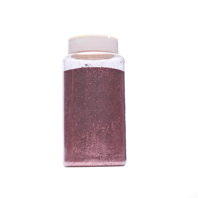 1 Pound Rose Gold DIY Art & Craft Extra Fine Glitter With Shaker Bottle