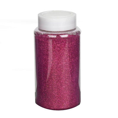 1 Pound Hot Pink DIY Art & Craft Glitter Extra Fine With Shaker Bottle
