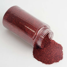 1 Pound Burgundy DIY Art & Craft Extra Fine Glitter With Shaker Bottle