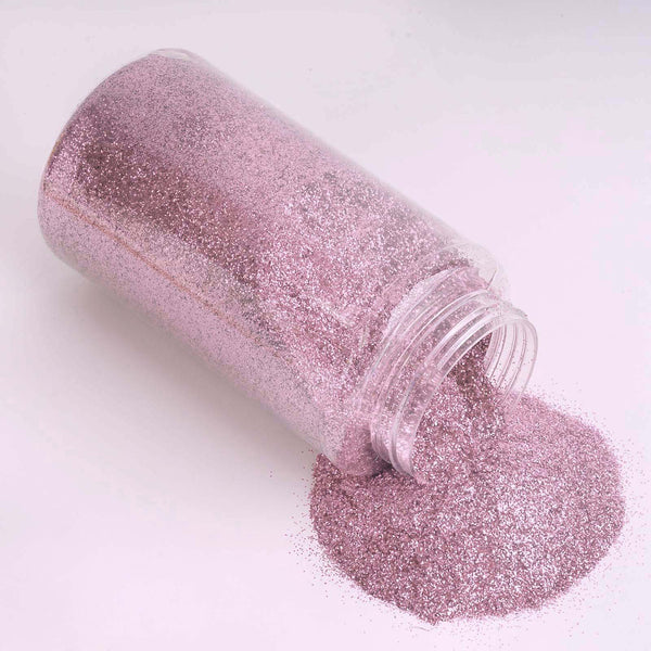 1 Pound Pink DIY Art & Craft Glitter Extra Fine With Shaker Bottle
