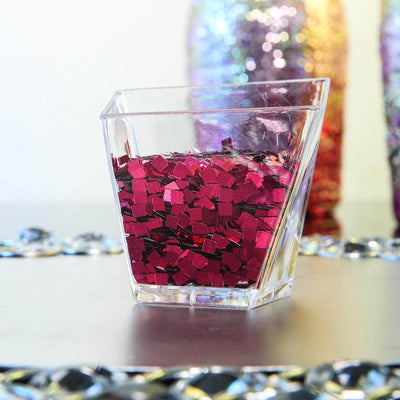 50 Grams Hot Pink DIY Art & Craft Confetti Glitters | Chunky Glitters