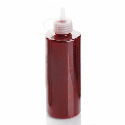 4 oz Burgundy Art & Craft Glitter Glue | Glitter Sensory Bottles DIY