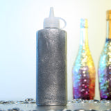 4 oz Silver Art & Craft Glitter Glue | Glitter Sensory Bottles DIY