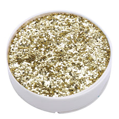 1 Pound Gold DIY Art & Craft Confetti Glitters | Chunky Glitter with Shaker Bottle