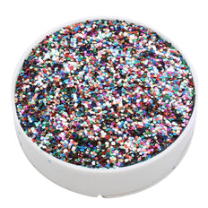 1 Pound Multi-Color DIY Art & Craft Confetti Glitters | Chunky Glitter with Shaker Bottle