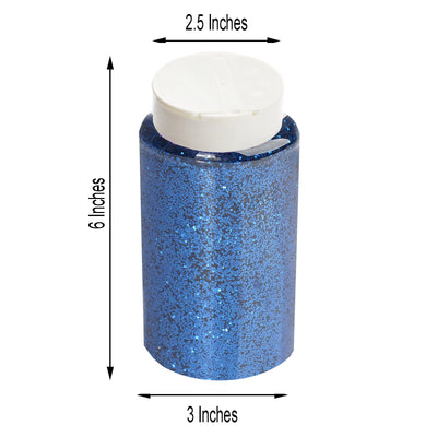 1 Pound Royal Blue DIY Art & Craft Confetti Glitters | Chunky Glitter with Shaker Bottle