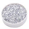 1 Pound Silver DIY Art & Craft Confetti Glitters | Chunky Glitter with Shaker Bottle