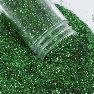 23 grams Green Extra Fine Glitters