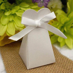 100 PCS Triangle Heart Boxes
