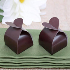 100 Pcs | Chocolate Party Favor Boxes Wholesale | Party Supplies
