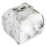 25 Pack | Marble Design Cupcake Party Favor Boxes