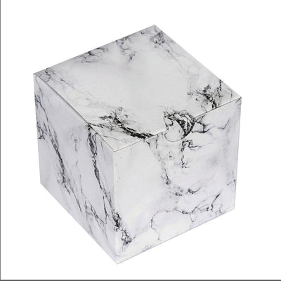 "50 PCS | 3""x3"" Marble Design Party Favor Boxes"
