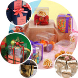 "50 PCS | 3""x3"" Marble Design Party Favor Boxes - Clearance SALE"