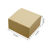 "100 PCS | 4""x4""x2"" Natural Cake Party Favor Boxes"