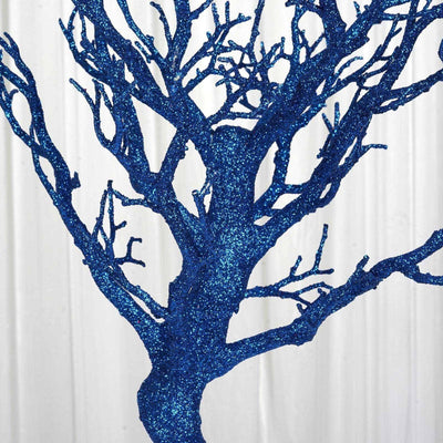"30"" Vogue Manzanita Centerpiece Tree - Royal Blue"