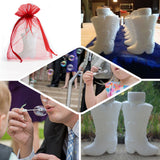 24 PCS White Cowboy Boot Bubbles Bridal Favor