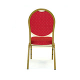 Pink Satin Rosette Stretch Banquet Spandex Chair Cover