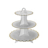 "3 Tier | 13"" White Cardboard Cupcake Stand 