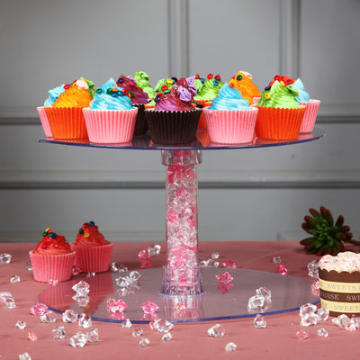 6 Tier Clear Acrylic Cupcake Cake Stand