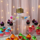 8 Tier Clear Acrylic Cupcake Cake Stand
