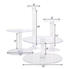 "4 Tier Acrylic 16"" Cake Stand"