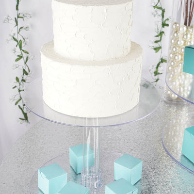 "4 Tier Acrylic 18"" Cake Stand"