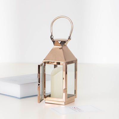 Metal Lantern Centerpieces | Outdoor Candle Lanterns