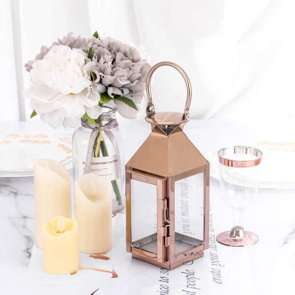 "8"" Rose Gold 