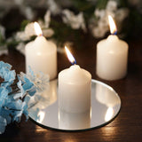 White Votive Candles-12/pk