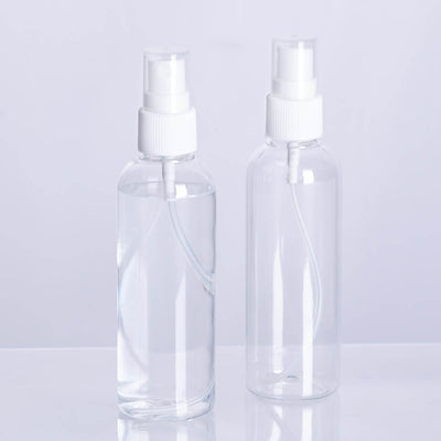 4 Pack - 4 Oz Refillable Empty Spray Bottles with Fine Mist Sprayer, Hand Sanitizer Spray Bottle