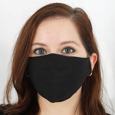 Cotton Face Mask, Washable Face Mask, Black Face Mask, Fabric Face Mask, Protective Masks