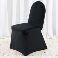 Premium Spandex Chair Cover - Black
