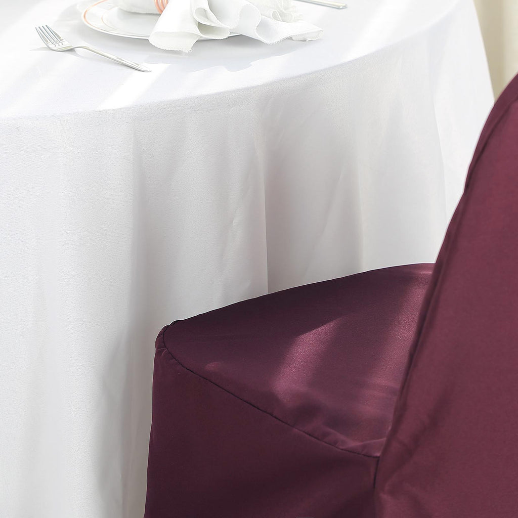 Remarkable Burgundy Polyester Banquet Chair Covers Alphanode Cool Chair Designs And Ideas Alphanodeonline